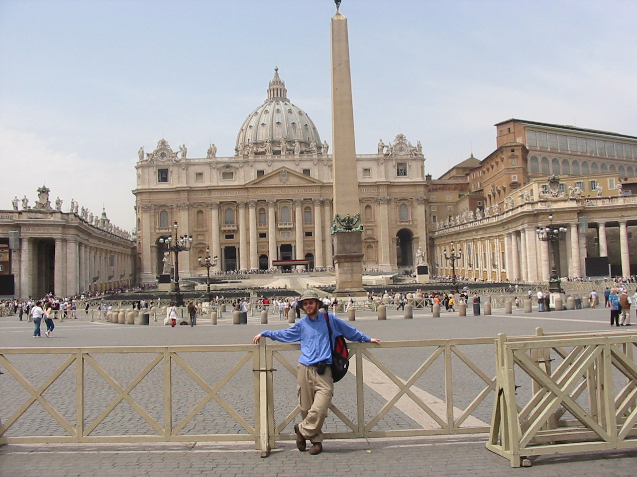 vatican city Vatican city is a tiny place filled with art, architecture, and one very famous  leader.